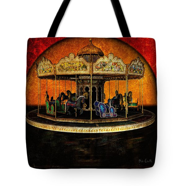Painted Ponies Tote Bag by Bob Orsillo
