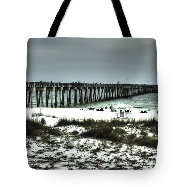 Panama City Beach Tote Bag by Debra Forand