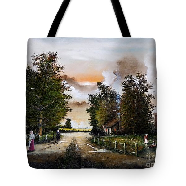 Passing The Time Tote Bag