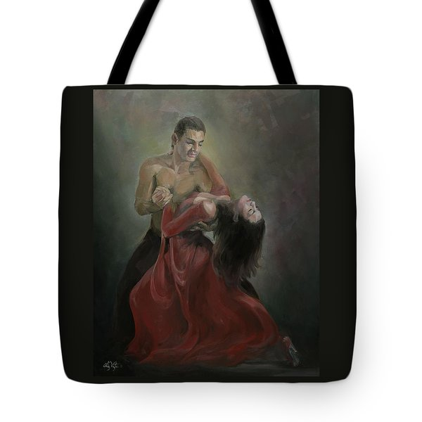 Passionate Paso Doble Tote Bag