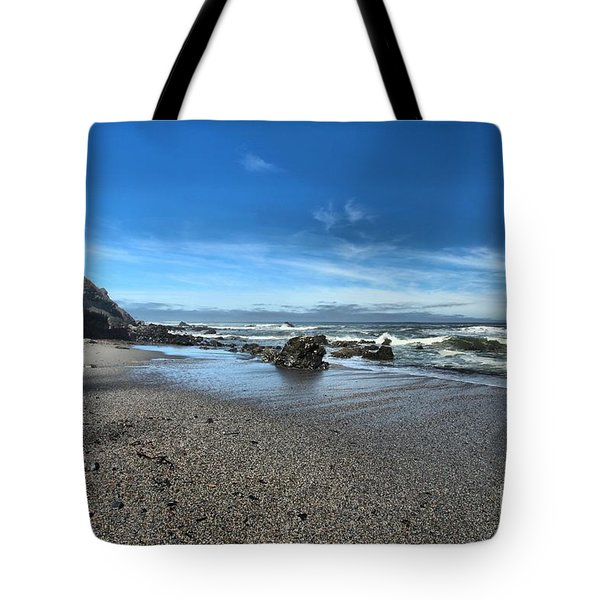 Patrick's Point Landscape Tote Bag by Adam Jewell