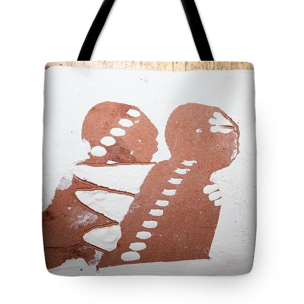 Paul - Tile Tote Bag by Gloria Ssali