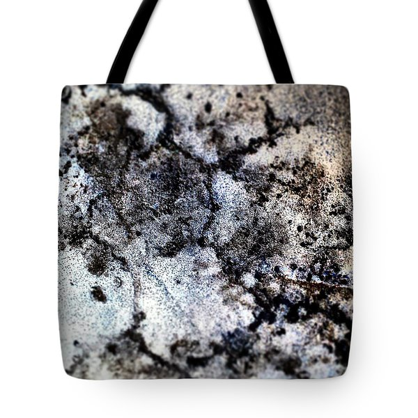 Pavement In Negative. Tote Bag