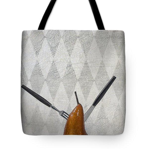 Pear Tote Bag by Joana Kruse