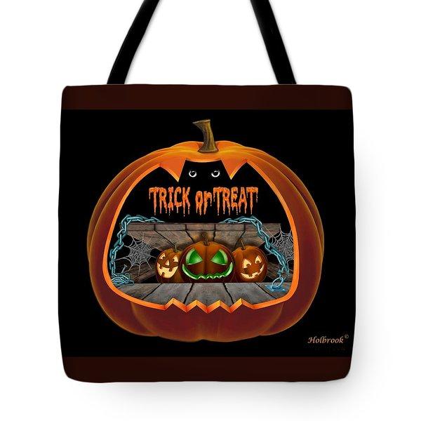 Peek A Boooo Tote Bag
