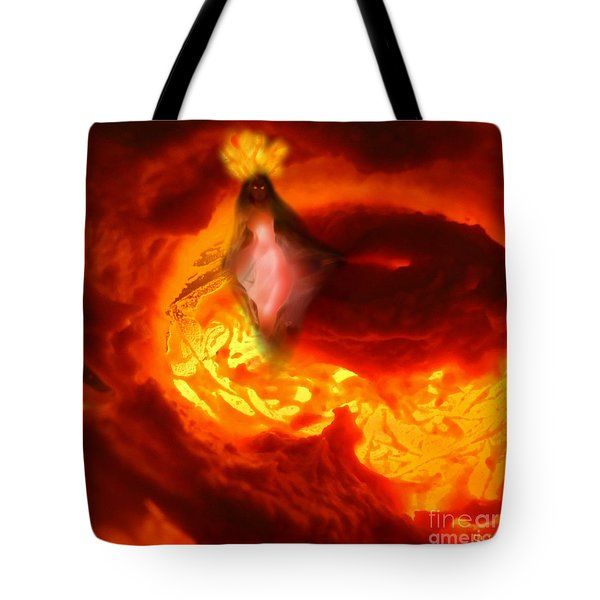 Pele Goddess Of Fire And Volcanoes Tote Bag