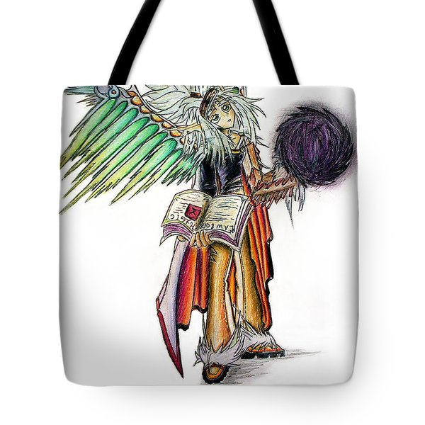 Pelusis God Of Law And Order Tote Bag