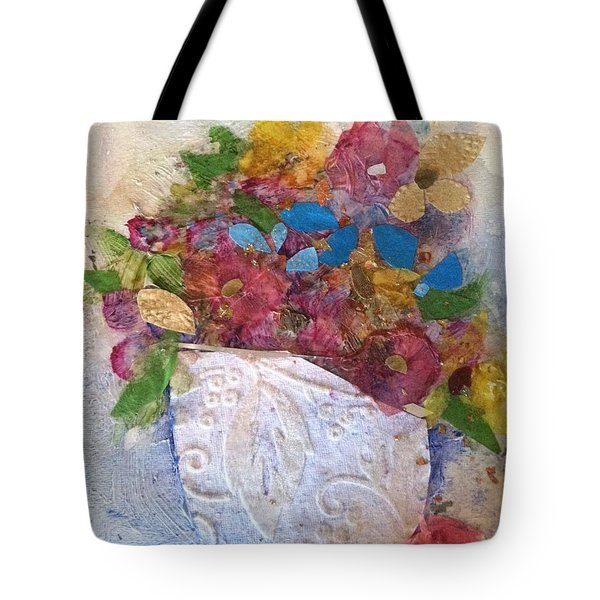Petals And Blooms Tote Bag