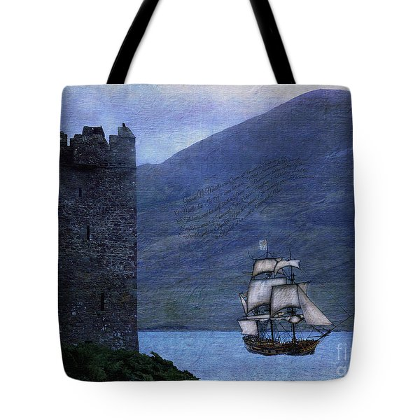 Petitioning The Queen Tote Bag