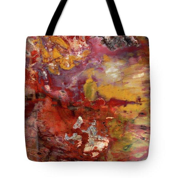 Petrified Wood Detail Tote Bag