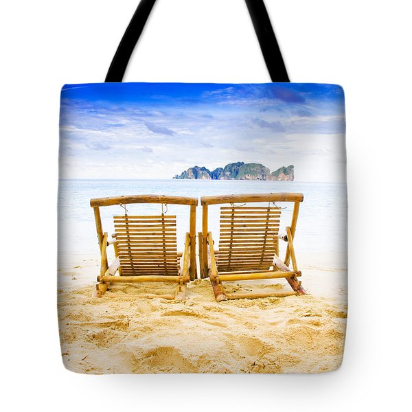 Phi Phi Island Thailand Tote Bag