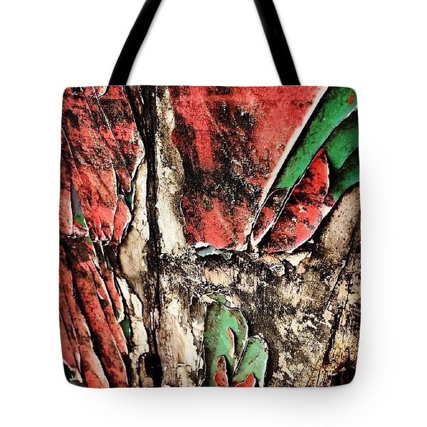 Flaky Paint 3 Tote Bag
