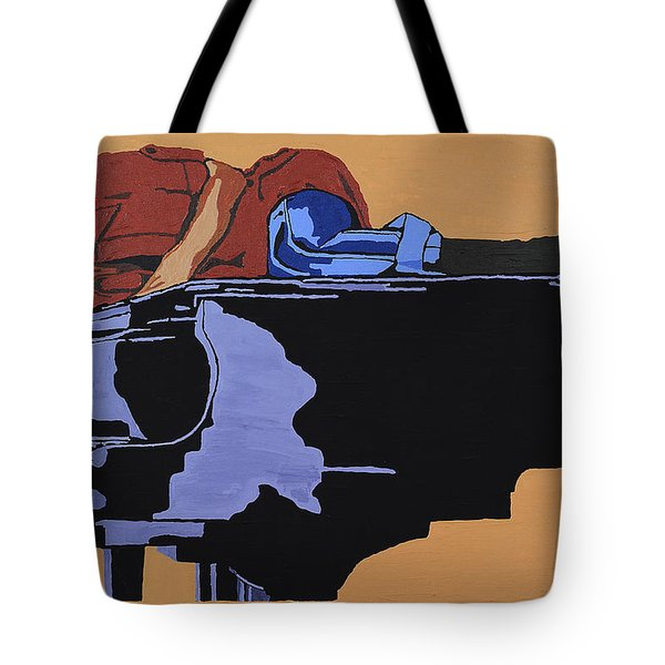 Piano And I Tote Bag