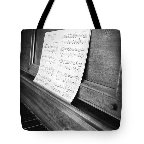 Piano Man Tote Bag by Jerry Cordeiro