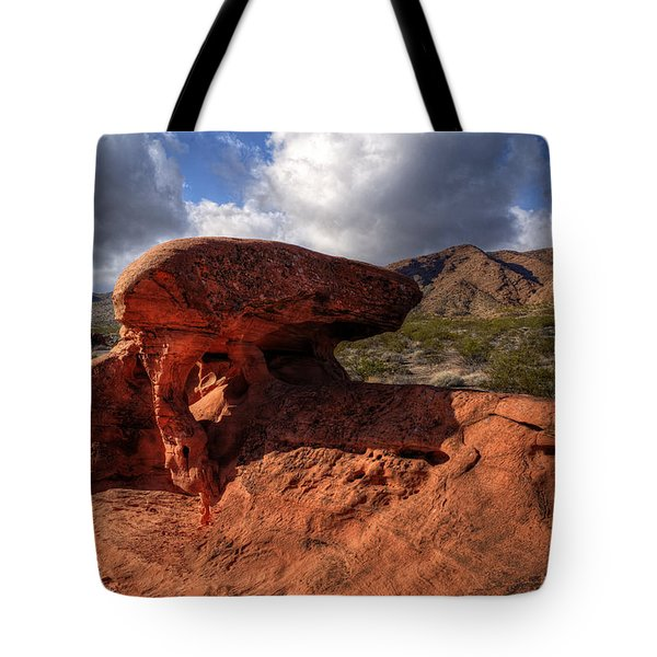 Piano Rock Tote Bag