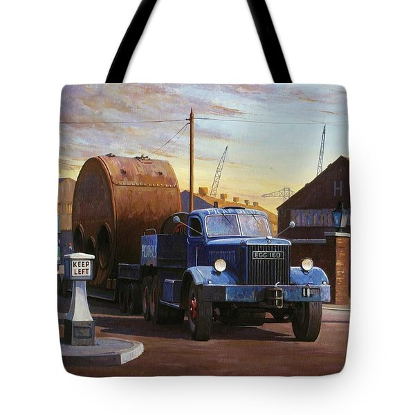 Pickfords Diamond T Tote Bag by Mike  Jeffries