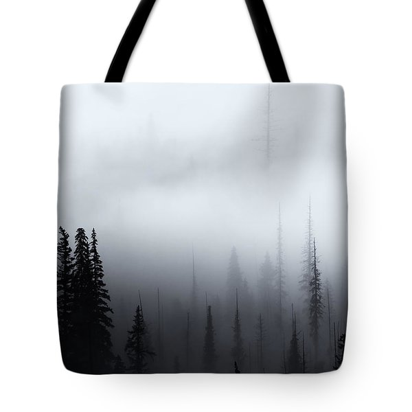 Piercing The Clouds Tote Bag by Mike  Dawson