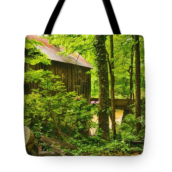 Pine Run Grist Mill Tote Bag