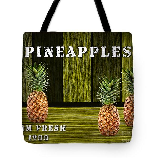 Pineapple Farm Tote Bag