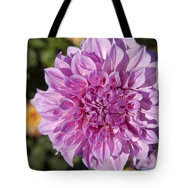Pink Dahlia Tote Bag by Peter French