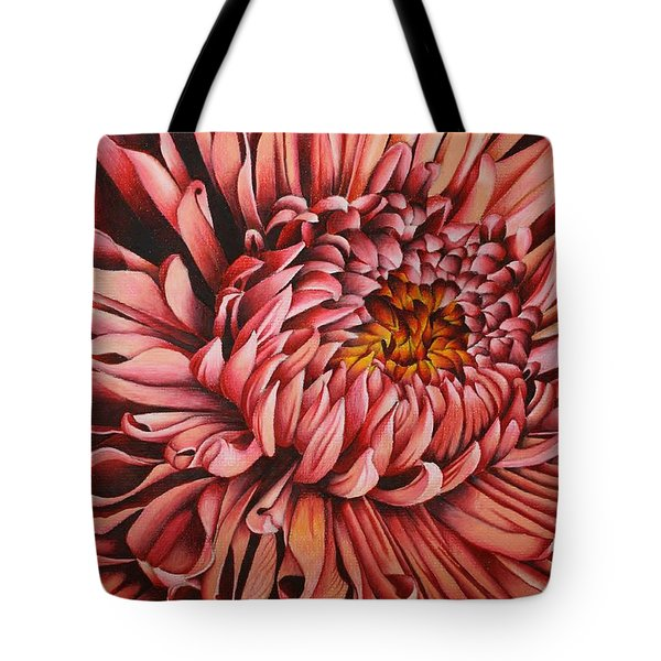 Pink Mum Tote Bag by Bruce Bley