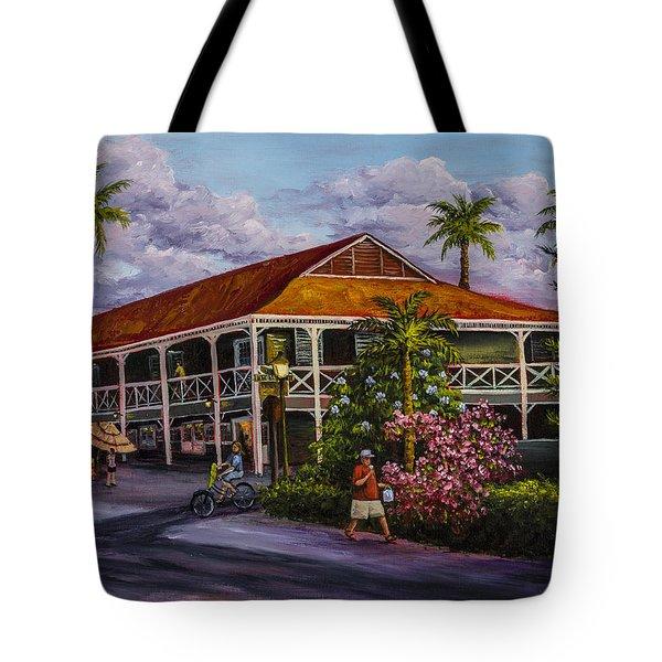 Pioneer Inn Lahaina Tote Bag by Darice Machel McGuire