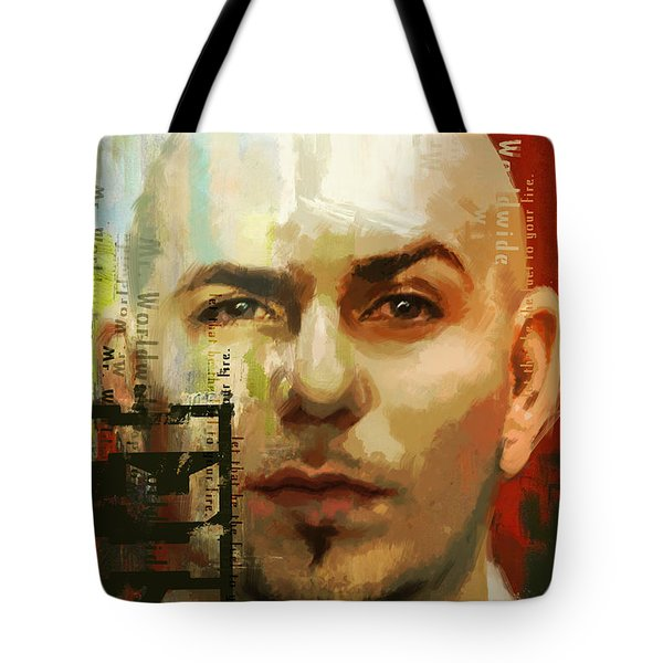 Pitbull Tote Bag by Corporate Art Task Force