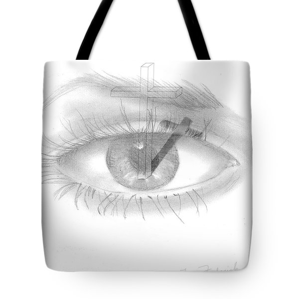Plank In Eye Tote Bag