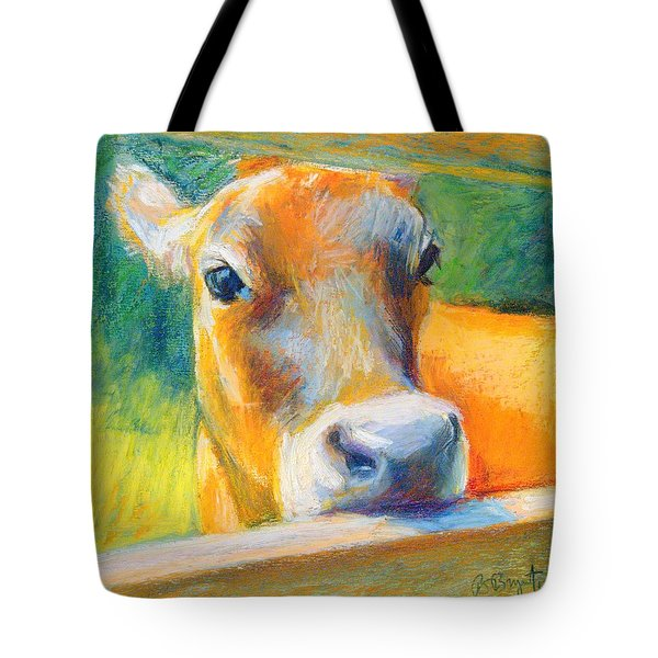 Playing Bashful Tote Bag by Bethany Bryant
