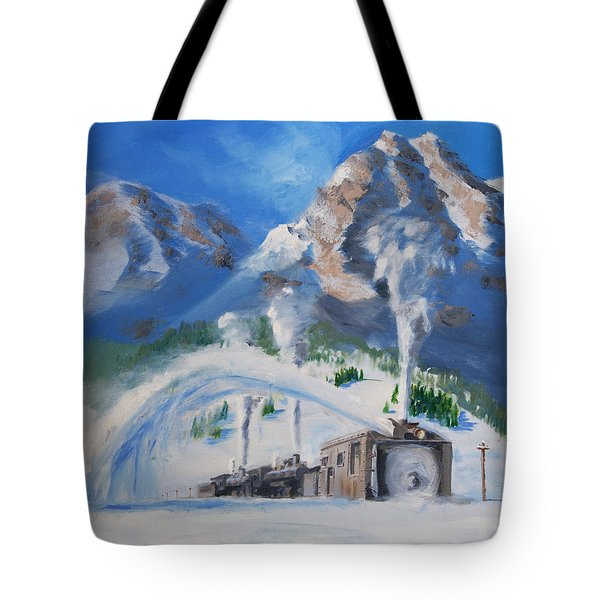Plowing Home Tote Bag by Christopher Jenkins