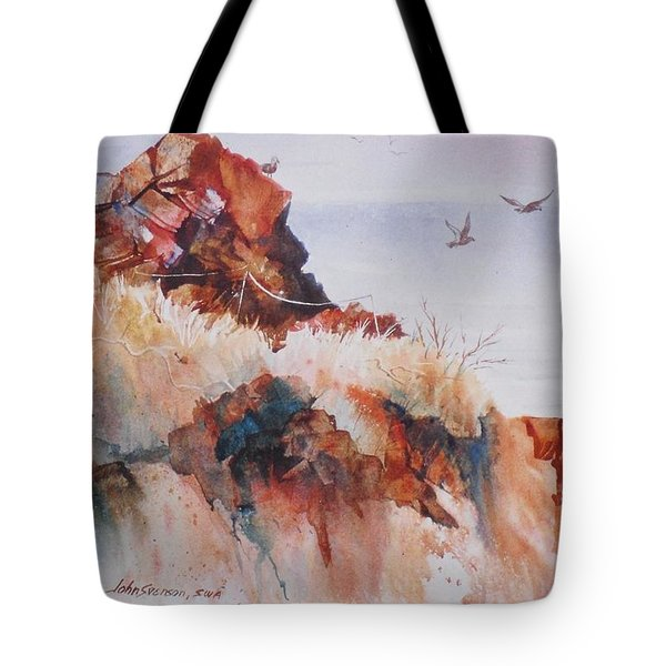 Point Lobos Precipice Tote Bag