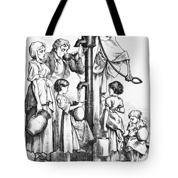 Pollution Cartoon, 1866 Tote Bag