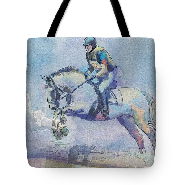 Polo Art Tote Bag by Catf