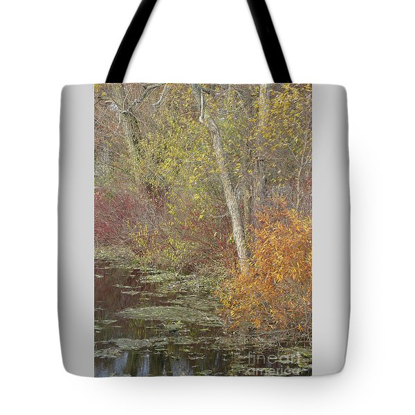 Pondside Pastel Tote Bag by Ann Horn
