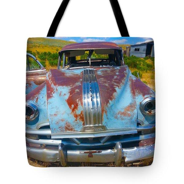 Pontiac Blues Tote Bag