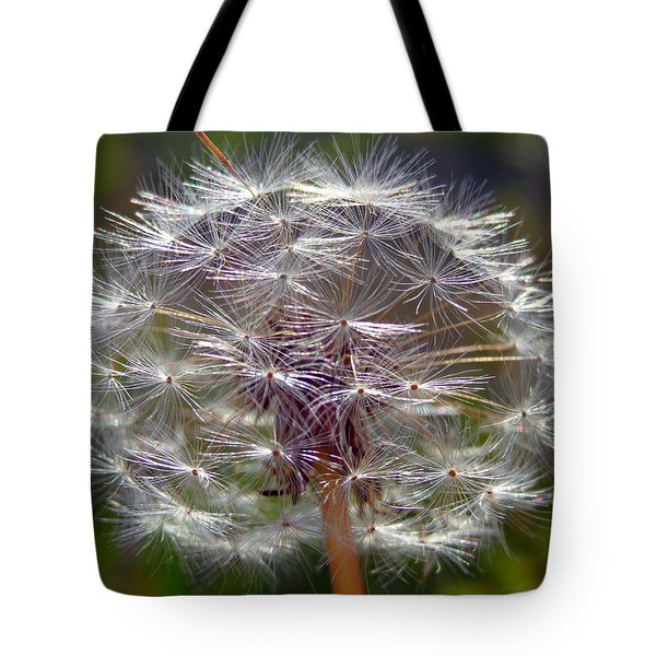 Tote Bag featuring the photograph Poof by Joseph Skompski