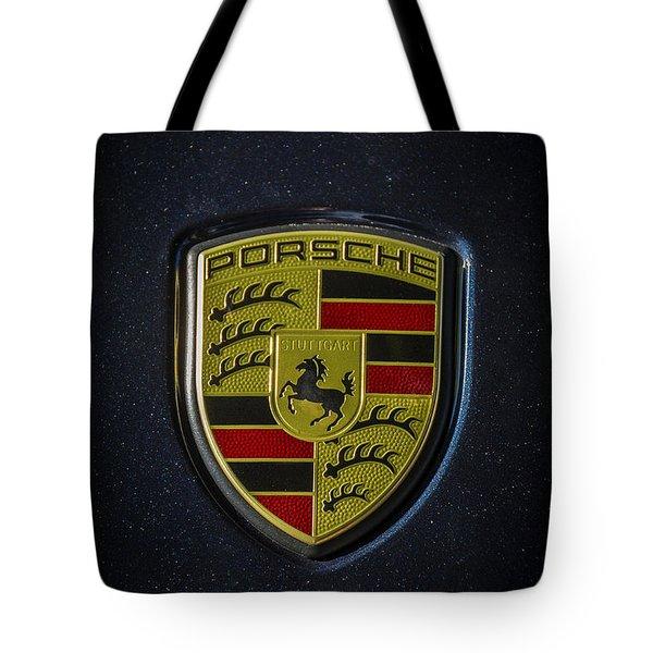 Porsche Logo Tote Bag