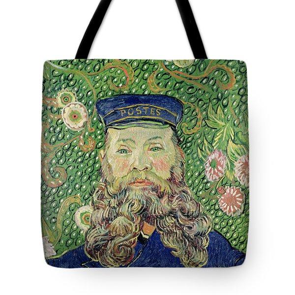 Portrait Of The Postman Joseph Roulin Tote Bag by Vincent Van Gogh