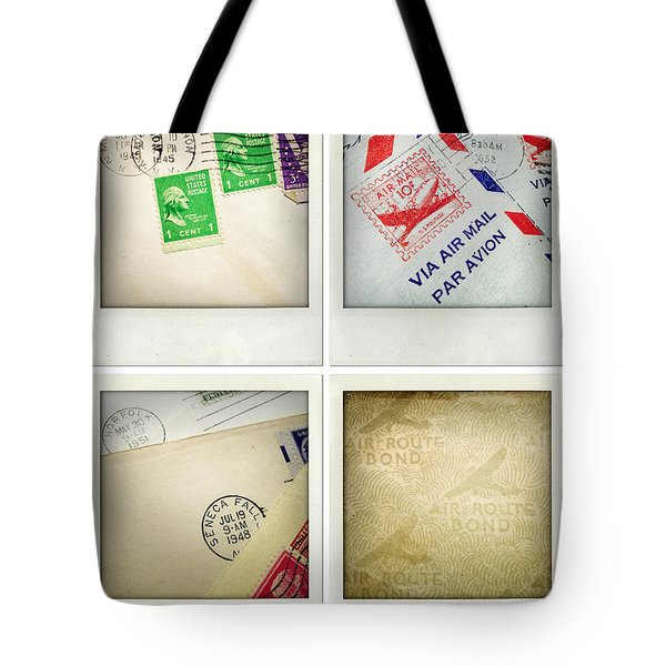 Postal Still Life Tote Bag by Les Cunliffe