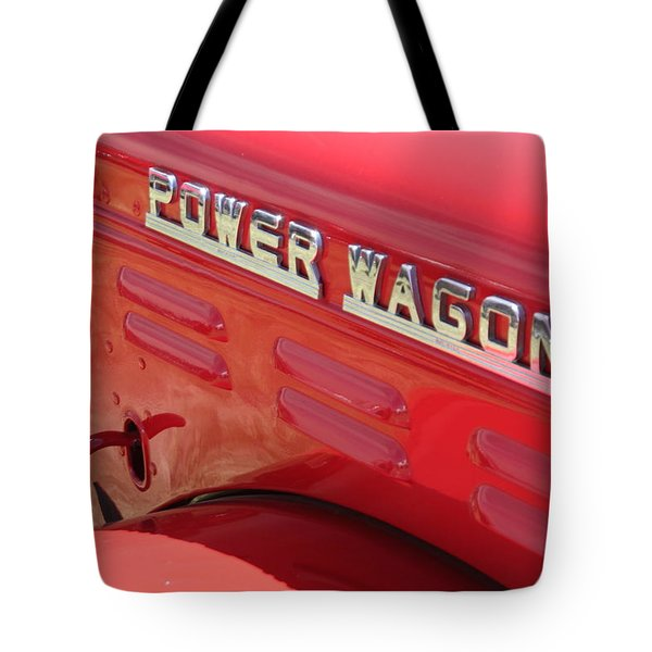 Power Wagon Tote Bag by David S Reynolds