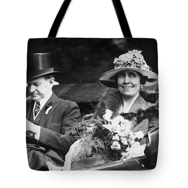 President And Mrs. Coolidge Tote Bag