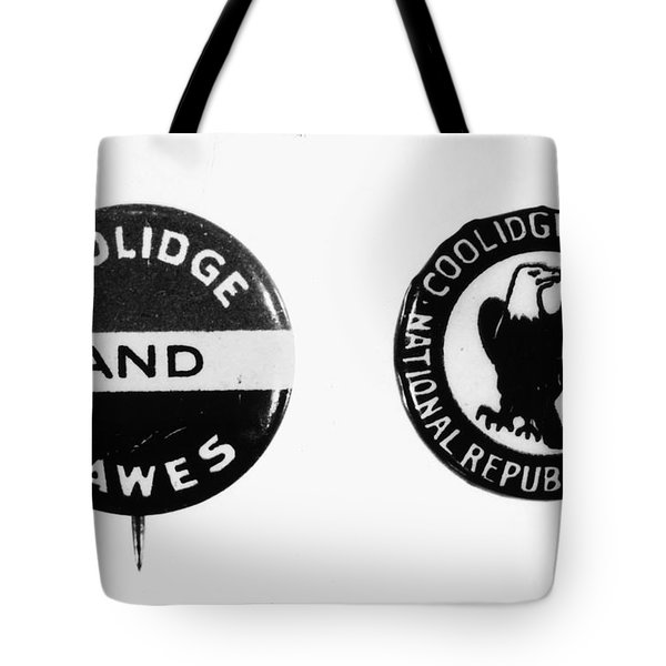 Presidential Campaign, 1924 Tote Bag