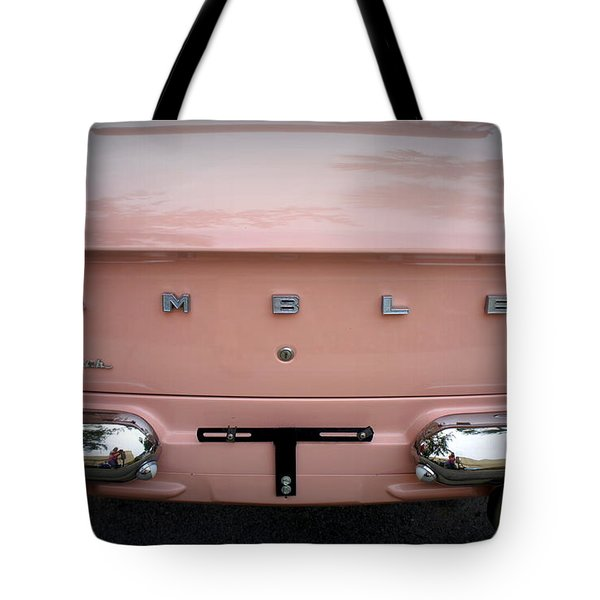 Tote Bag featuring the photograph Pretty In Pink by Laurie Perry