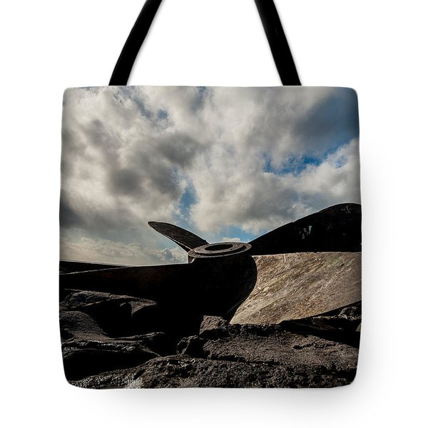 Propeller On The Beach Tote Bag