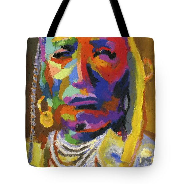 Proud Native American II Tote Bag