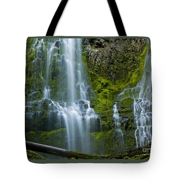 Proxy Falls Tote Bag by Nick  Boren