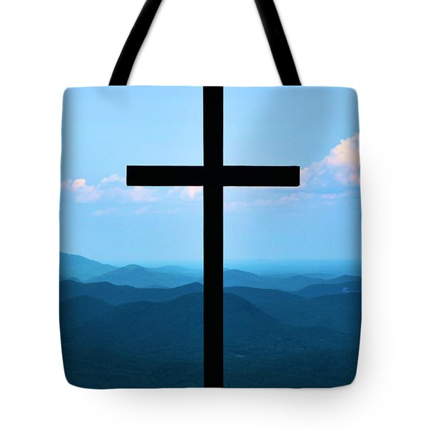 Psalm 121 Tote Bag by Bob Sample