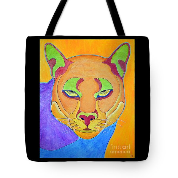 Puma 1 Tote Bag by Joseph J Stevens