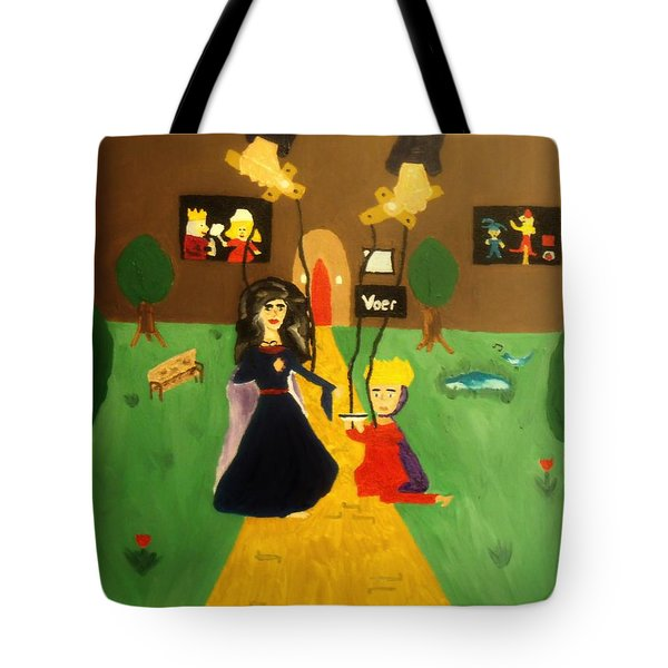 Puppets Tote Bag by Bamhs Blair