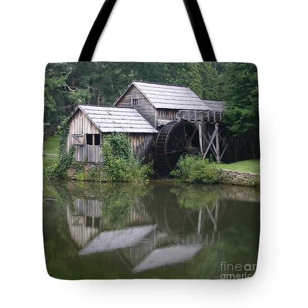 Tote Bag featuring the photograph Quiet Reflection by ELDavis Photography